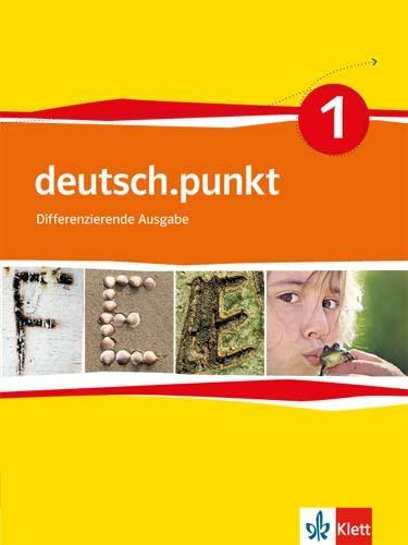 9783123138119: deutsch.punkt 1. Sprach-, Lese und Selbstlernbuch 5. Schuljahr. Neue Ausgabe