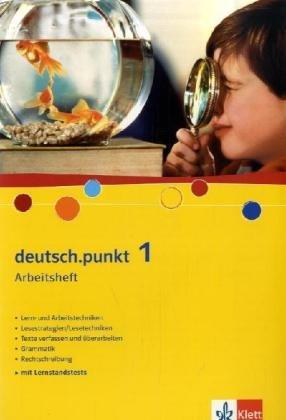 9783123139420: deutsch.punkt 1. Arbeitsheft. 5. Schuljahr. Realschule: Realschule. Gesamtschule