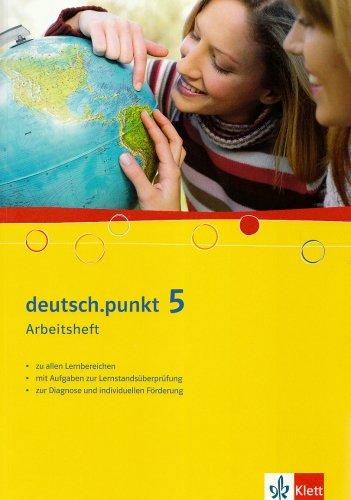 9783123139864: deutsch.punkt 5. Arbeitsheft. 9. Schuljahr. Realschule und Gesamtschule: für Real- und Gesamtschulen sowie verwandte Schulformen
