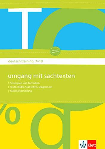 9783123140358: deutsch.training. 7. bis 10. Klasse. Arbeitsheft Medien I: Printmedien