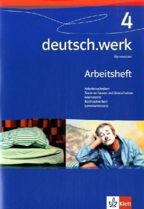 9783123142246: deutsch.werk 4. Arbeitsheft. Gymnasium. 8. Schuljahr
