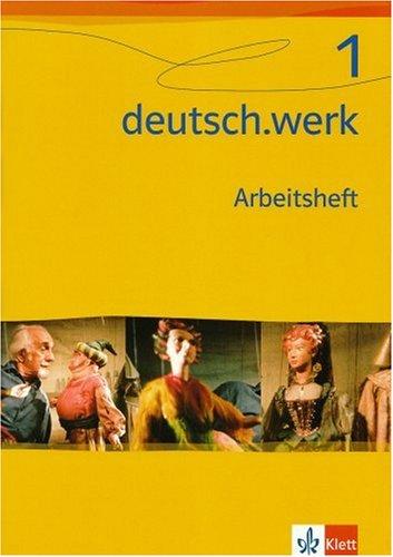 9783123142314: deutsch.werk 1. Arbeitsheft. Realschule 5. Schulj.