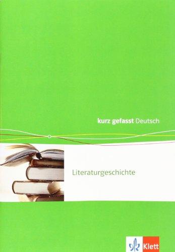 Literaturgeschichte. 8 - 12./13. Schuljahr