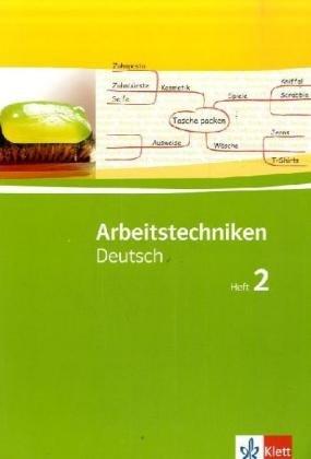 9783123270314: Arbeitstechniken Deutsch 2. 7./8. Schuljahr. Schülerarbeitsheft