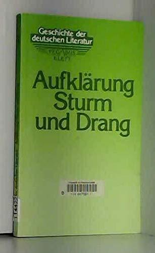 GESCHICHTE DER DEUTSCHEN LITERATUR [in 6 Baenden. Von der Aufklaerung bis zur Gegenwart]: Bark, ...