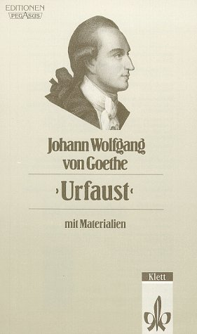 9783123514203: Urfaust (German Edition)