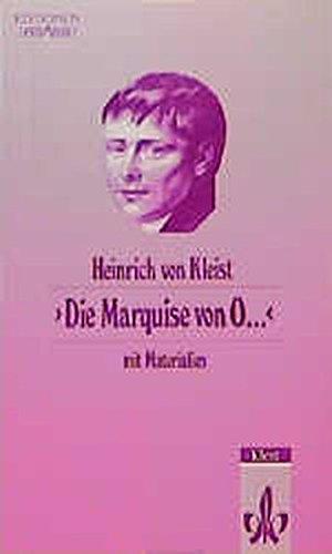9783123516603: Die Marquise von O...