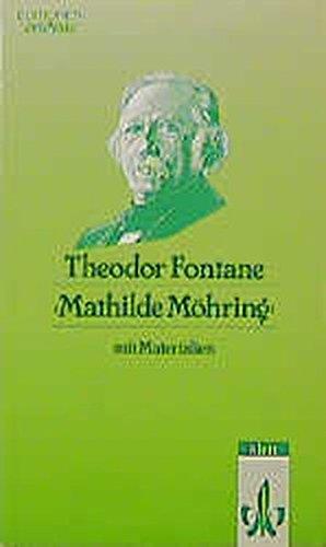 9783123517402: Mathilde M�hring: Textausgabe mit Materialien