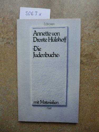 9783123518003: Die Judenbuche (German Edition)