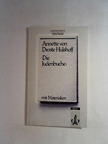 Die Judenbuche (German Edition): Droste-Hulshoff