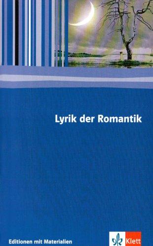 9783123524257: Lyrik Romantik: Textausgabe mit Materialien