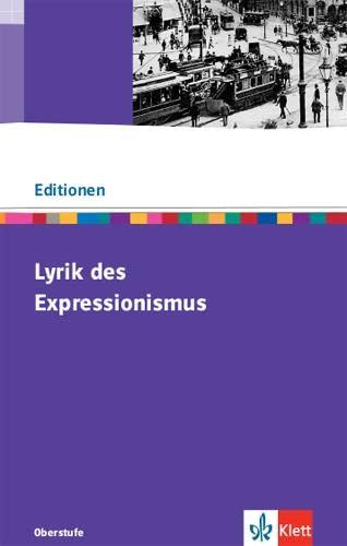 9783123524387: Lyrik des Expressionismus