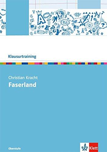 9783123524738: Christian Kracht: Faserland: Arbeitsheft
