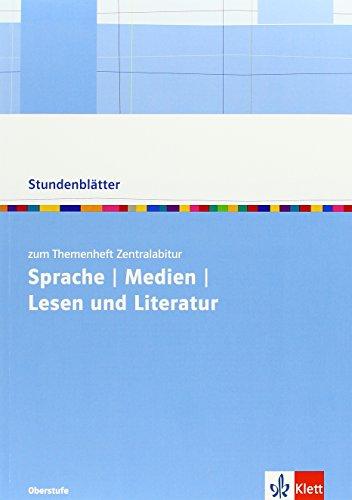 9783123524844: Sprache/Medien/Lesen und Literatur: Kopiervorlagen mit Unterrichtshilfen
