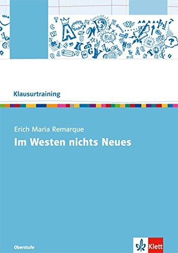 Erich Maria Remarque Im Westen nichts Neues: Erich M. Remarque