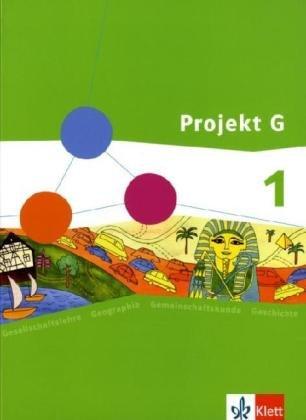 9783124089106: Projekt G. Schülerband 1. Gesellschaftslehre für die Gesamtschule in Rheinland-Pfalz Klasse 5/6