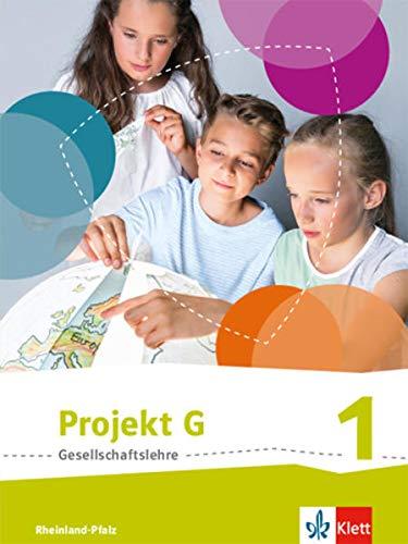 9783124089465: Projekt G. Schülerband 1. Neue Ausgabe Gesellschaftslehre Rheinland-Pfalz. Klasse 5/6
