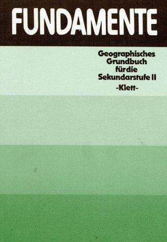 9783124092106 Fundamente Geographisches Grundbuch Fur Die