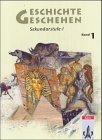 9783124110510: Geschichte und Geschehen 1. Schülerheft. Neubearbeitung: Unterrichtswerk für Geschichte an Gymnasien. Sekundarstufe 1