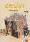 9783124110619: Geschichte Geschehen 2. Nordrhein-Westfalen, Berlin, Bremen, Hessen, Mecklenburg-Vorpommern.