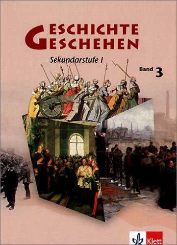 9783124110718: Geschichte und Geschehen A 3. Nordrhein-Westfalen, Berlin, Bremen, Hessen, Mecklenburg-Vorpommern. Gebunden: Geschichtliches Unterrichtswerk für die Sekundarstufe I