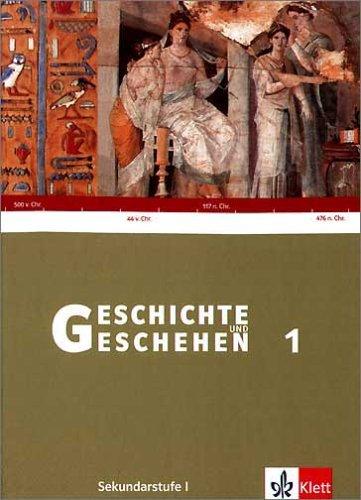 9783124112507: Geschichte und Geschehen 1. Baden-Württemberg. Schülerbuch: Sekundarstufe 1. 6. Schuljahr