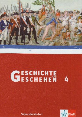 9783124114709: Geschichte und Geschehen G 4. Schülerbuch. Niedersachsen, Thüringen, Bremen. Gymnasium