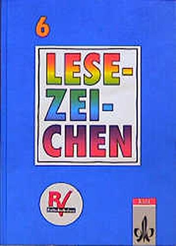 9783124146007: Lesezeichen, Lesebuch für Gymnasien und Realschulen, neue Rechtschreibung, 6. Schuljahr