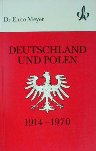 9783124264008: Deutschland und Polen 1914-1970