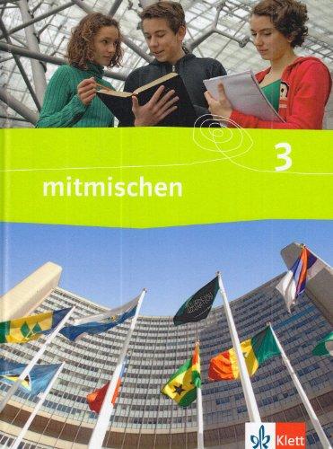 9783124340306: Mitmischen 3. Neubearbeitung. Schülerbuch 9./10. Schuljahr. Ausgabe für Hauptschulen in Hessen, Berlin und Brandenburg