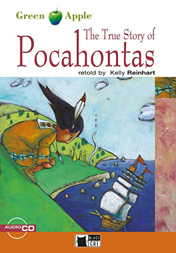 9783125000735: The True Story of Pocahontas. Buch + Audio-CD