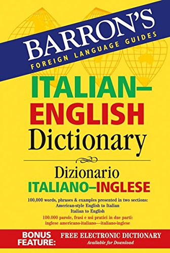 9783125010628: Barron's Italian & English Dictionary
