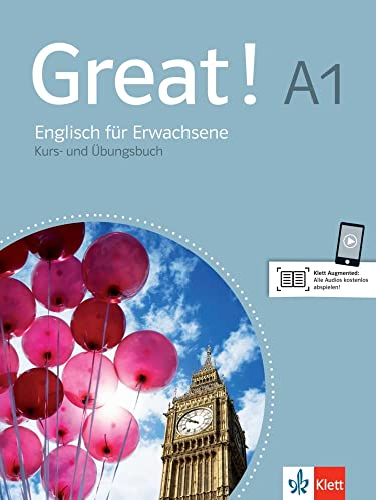 9783125014800: Great! Lehr- und Arbeitsbuch mit 2 Audio-CDs A1