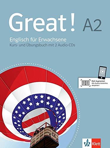 9783125014824: Great! Lehr- und Arbeitsbuch mit 2 Audio-CDs A2: Englisch für Erwachsene. Lehr- und Arbeitsbuch + 2 Audio-CDs