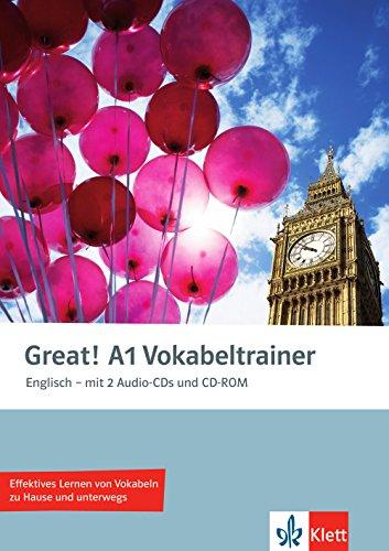 9783125014886: Great! Vokabeltrainer mit 2 Audio-CDs und CD-ROM. A1: Englisch f�r Erwachsene