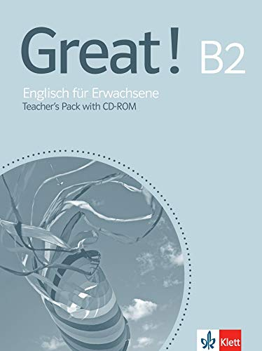 9783125015852: Great! B2 - Teacher's Pack with CD-ROM: Englisch für Erwachsene