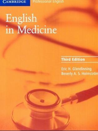 9783125027220: English in Medicine, Course book