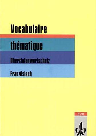 9783125027824: Vocabulaire thematique.