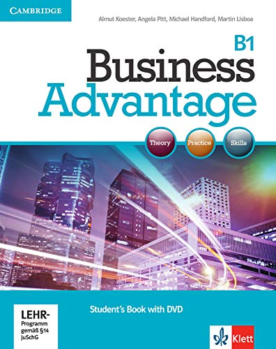 9783125028104: Business Advantage B1. Intermediate. Personal Study Book with DVD