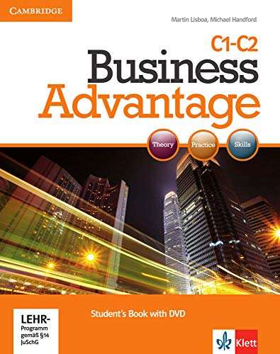 9783125028203: Business Advantage C1. Advanced. Student's Book with DVD