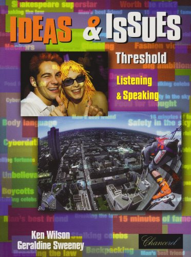 9783125084544: Threshold: Student's Book Combined with Workbook (Ideas & issues series)