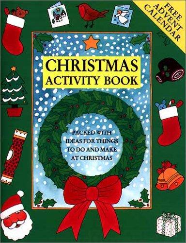 Christmas Activity Book: Spielesammlung: Bruzzone, Catherine