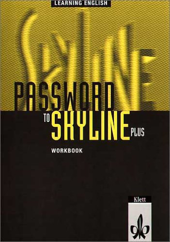9783125104624: Learning English, Password to Skyline Plus, Workbook