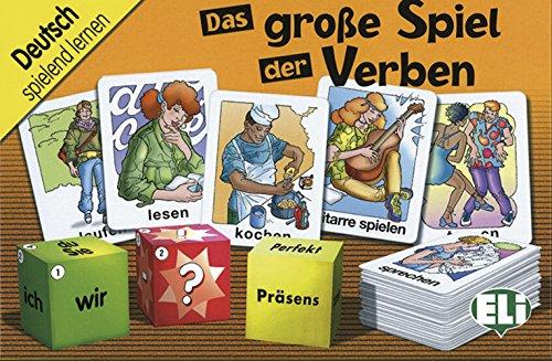 9783125128033: Das große Spiel der Verben: 100 Karten und 3 Würfel