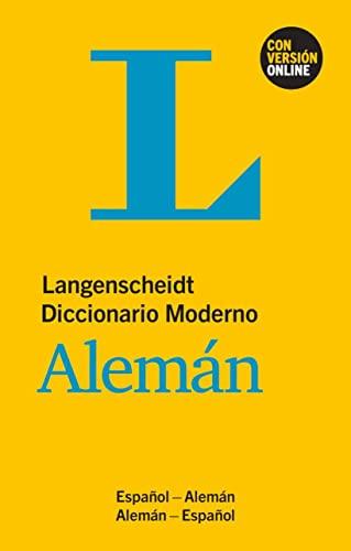 9783125140004: DICCIONARIO MODERNO ALEMÁN/ESPAÑOL