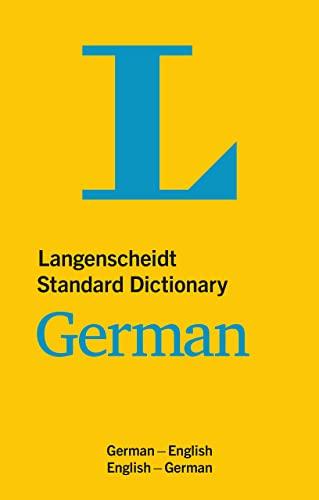 9783125140240: Langenscheidt Standard Dictionary German