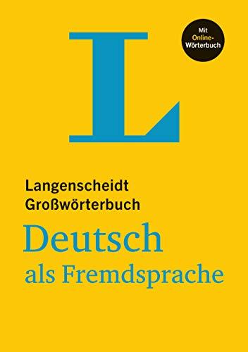 9783125140677: Langenscheidt Großwörterbuch Deutsch als Fremdsprache - mit Online-Wörterbuch: Deutsch-Deutsch