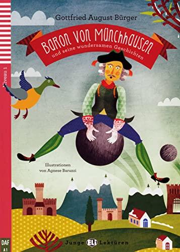 9783125147676: Baron von M�nchhausen und seine wundersamen Geschichten. Buch mit Audio-CD: Deutsche Lekt�re f�r das GER-Niveau A1