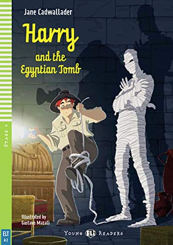 9783125147713: Harry and the Egyptian Tomb. Buch mit Audio-CD