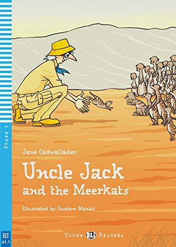 9783125147980: Uncle Jack and the meerkats. Buch mit Audio-CD A1: Niveau A1, 1./2. Lernjahr